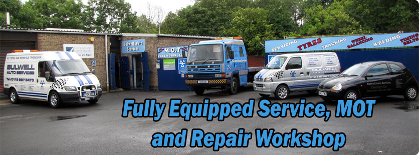 Fully Equipped Service, MOT and Repair Workshop